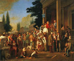 The County Election by  George Caleb Bingham (Painting ID: ED-0571-KA)