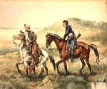 The Couriers by  Frederic Remington (Painting ID: AN-2173-KA)