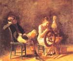 The Courtship 72 by  Thomas Eakins (Painting ID: CL-3572-KA)