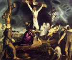 The Crucifixion 04 by  George Bellows (Painting ID: ED-1304-KA)