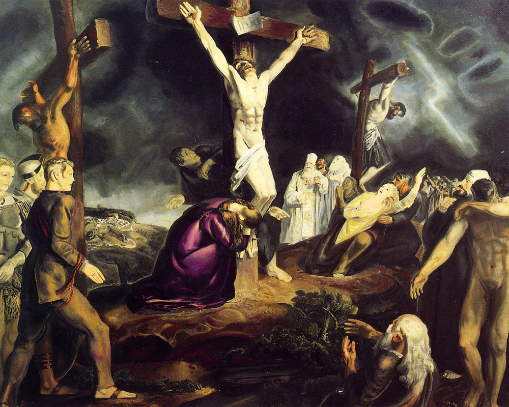 """The Crucifixion 04"" by  George Bellows"
