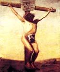 The Crucifixion 33 by  Thomas Eakins (Painting ID: CL-2833-KA)