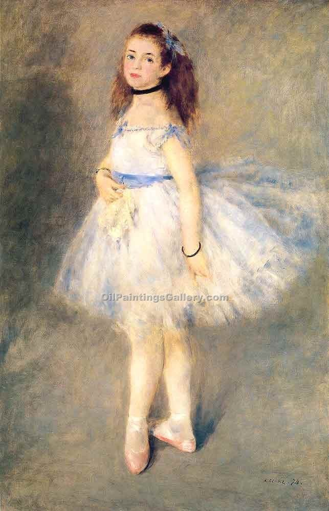 """The Dancer 44"" by  Pierre Auguste Renoir"
