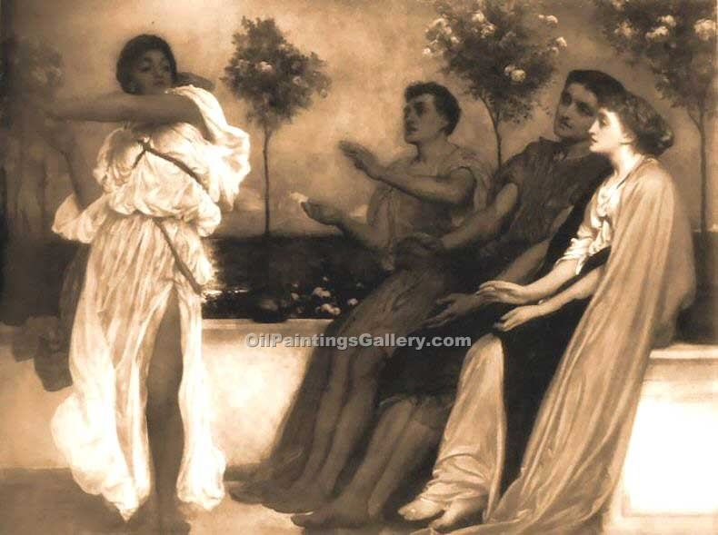 """The Dancers 39"" by   Leighton Frederic"