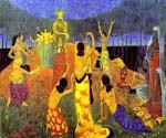 The Daughters of Pelichtim by  Paul Serusier (Painting ID: EI-0506-KA)