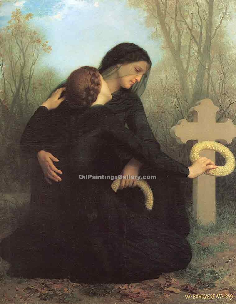 """The Day of the Dead"" by  Adolphe Bouguereau"