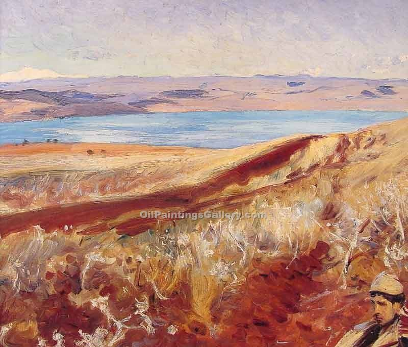 """The Dead Sea"" by  John Singer Sargent"