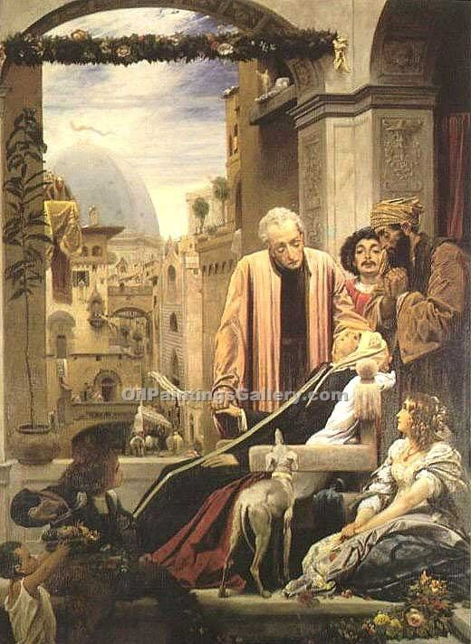 """The Death of Brunelleschi"" by   Leighton Frederic"