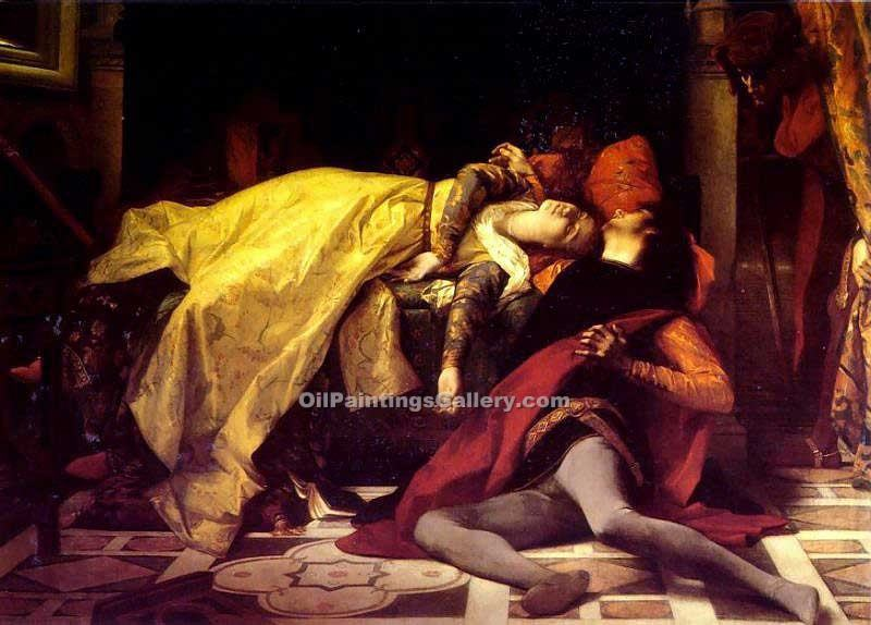 """The Death of Francesca and Paolo"" by  Alexandre Cabanel"