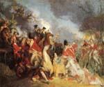 The Death of General Mercer at the Battle by  John Trumbull (Painting ID: CL-2512-KA)