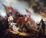 The Death of General Warren at the Battle by  John Trumbull (Painting ID: CL-2510-KA)