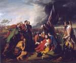 The Death of General Wolfe by  Benjamin West (Painting ID: CM-1622-KA)