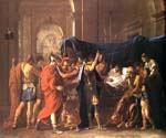 The Death of Germanicus by  Nicolas Poussin (Painting ID: CM-1449-KA)