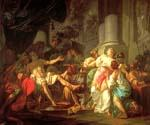 The Death of Seneca by  Jacques Louis David (Painting ID: CL-4177-KA)