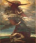 The Denunciation of Adam Eve by  George Watts (Painting ID: CM-1374-KA)