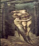 The Depths of the Sea by  Edward Burne Jones (Painting ID: CL-7009-KA)