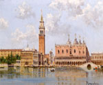 The Doges Palace and Campanile in Venice by  Antonietta Brandeis (Painting ID: CI-0113-KA)