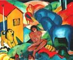 The Dream 56 by  Franz Marc (Painting ID: AF-0156-KA)