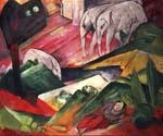 The Dream 57 by  Franz Marc (Painting ID: AF-0157-KA)