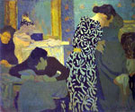 The Dress with Foliage by  Edouard Vuillard (Painting ID: ED-1269-KA)