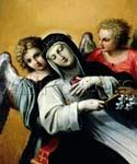 The Ecstasy of Saint Catherine by  Agostino Carracci (Painting ID: DA-2018-KA)