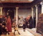 The Education of the Children of Clovis by  Sir Lawrence Alma Tadema (Painting ID: EI-1349-KA)