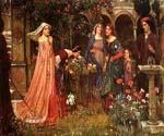 The Enchanted Garden by  John William Waterhouse (Painting ID: CL-4219-KA)