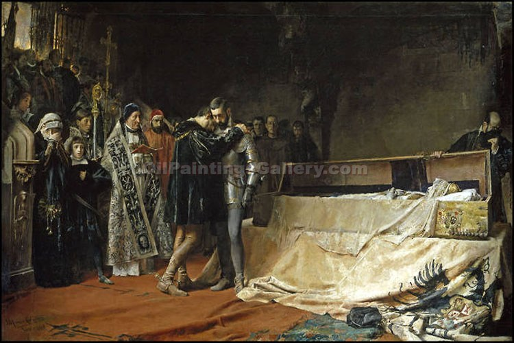 """The Entrance of the Duke of Gandia"" by  Jose Moreno Carbonero"