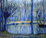 The Epte in Giverny by Theodore Earl Butler (Painting ID: LA-0674-KA)