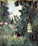 The Equatorial Jungle by  Henri Rousseau (Painting ID: RO-0162-KA)