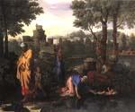 The Exposition of Moses by  Nicolas Poussin (Painting ID: CM-1410-KA)