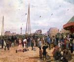 The Fairgrounds at Porte de Clignancourt by  Victor Gabriel Gilbert (Painting ID: CM-1025-KA)