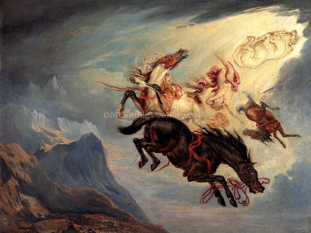 The Fall of Phaeton by James Ward |Artwork For Sale - Oil Paintings Gallery