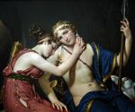 The Farewell of Telemachus and Eucharis by  Jacques Louis David (Painting ID: CL-4158-KA)