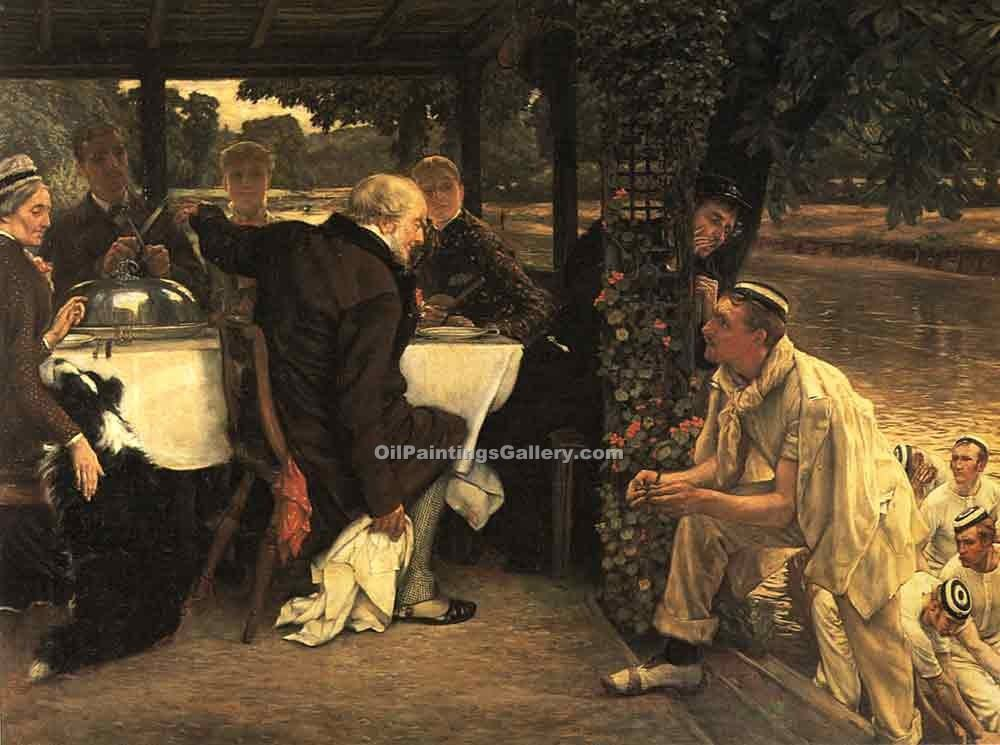 """The Fated Calf"" by  James Tissot"
