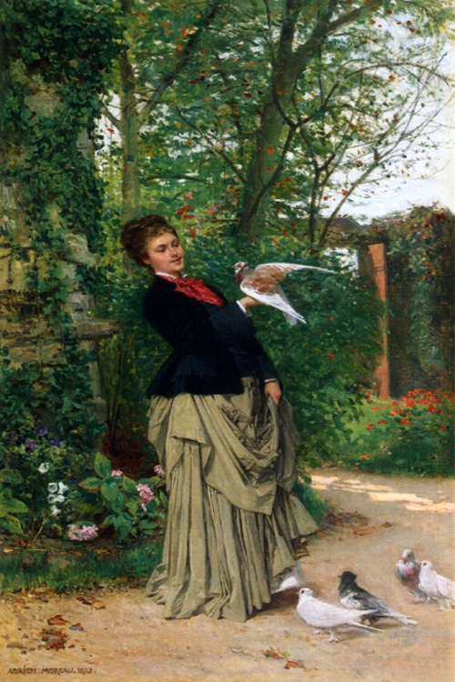 """The Favorite Bird"" by  Adrien Moreau"