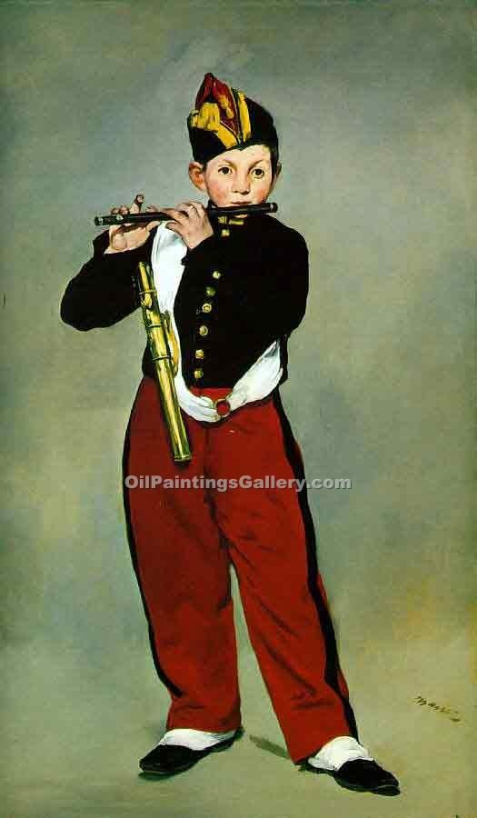"""The Fifer"" by  Edouard Manet"