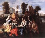 The Finding of Moses 11 by  Nicolas Poussin (Painting ID: CM-1411-KA)