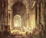 The Finding of the Laokoon by  Hubert Robert (Painting ID: CM-0875-KA)