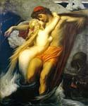 The Fisherman and the Siren by   Leighton Frederic (Painting ID: CL-2954-KA)