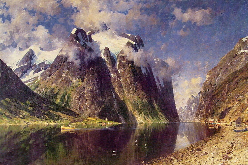"""The Fjord"" by  Adelsteen Normann"
