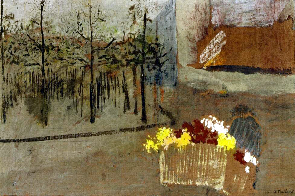"""The Florist"" by  Edouard Vuillard"