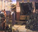 The Flower Market by  Sir Lawrence Alma Tadema (Painting ID: EI-1348-KA)
