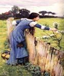 The Flower Picker by  John William Waterhouse (Painting ID: CL-4208-KA)