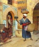 The Flower Seller 41 by  Rudolf Ernst (Painting ID: ER-0141-KA)