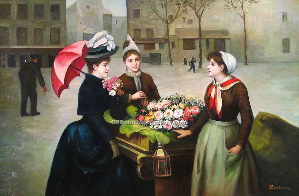 """The Flower Vender"""