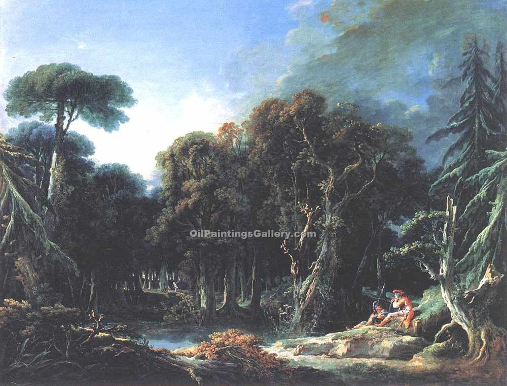 """The Forest"" by  Francois Boucher"