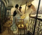 The Gallery of H.M.S. Calcutta by  James Tissot (Painting ID: CM-1166-KA)