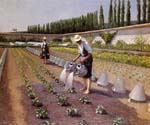 The Gardeners by  Gustave Caillebotte (Painting ID: CL-0982-KA)