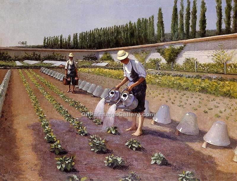 """The Gardeners"" by  Gustave Caillebotte"